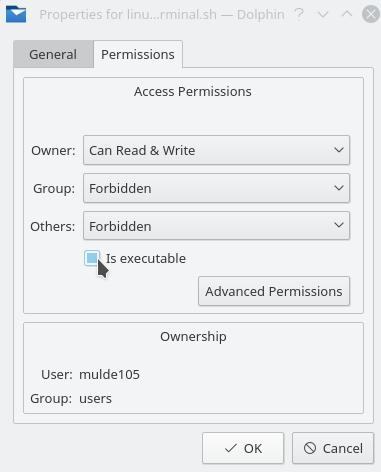 linux-terminal-executable